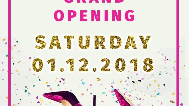 Marie Claire Shoes – Grand Opening Sale